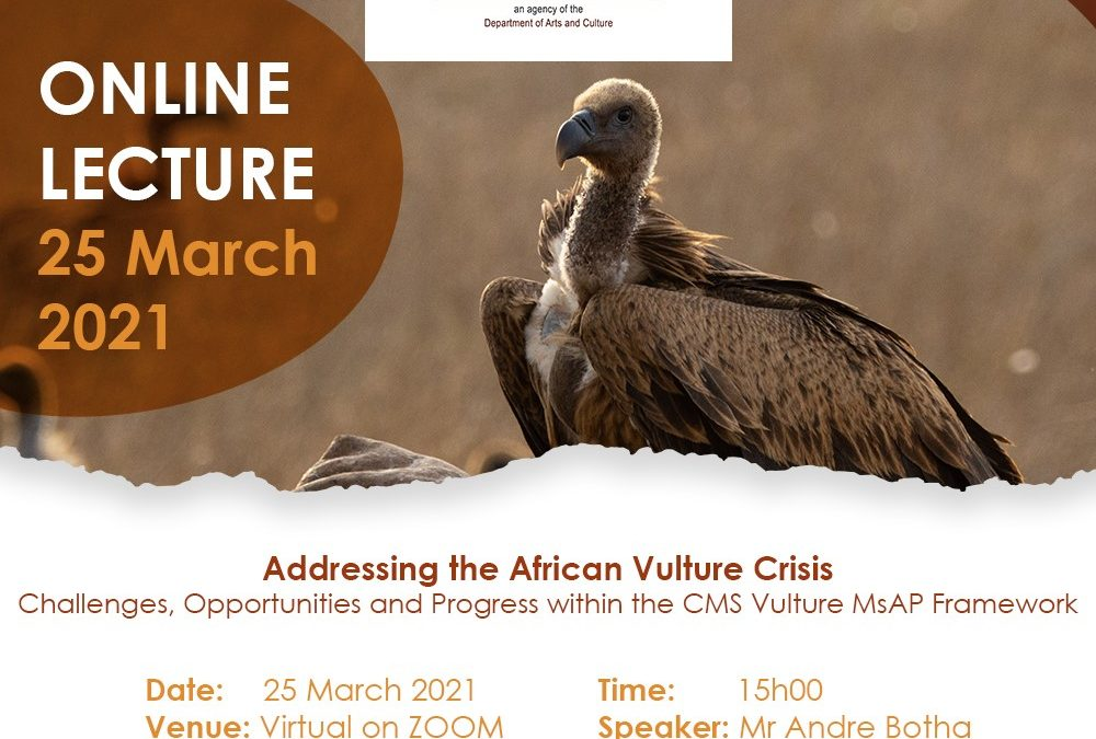 Public Lecture | Addressing the African Vulture Crisis